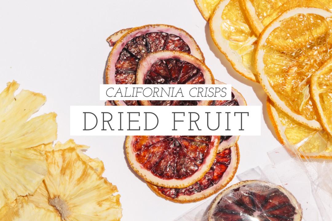 California Crisps dried fruit
