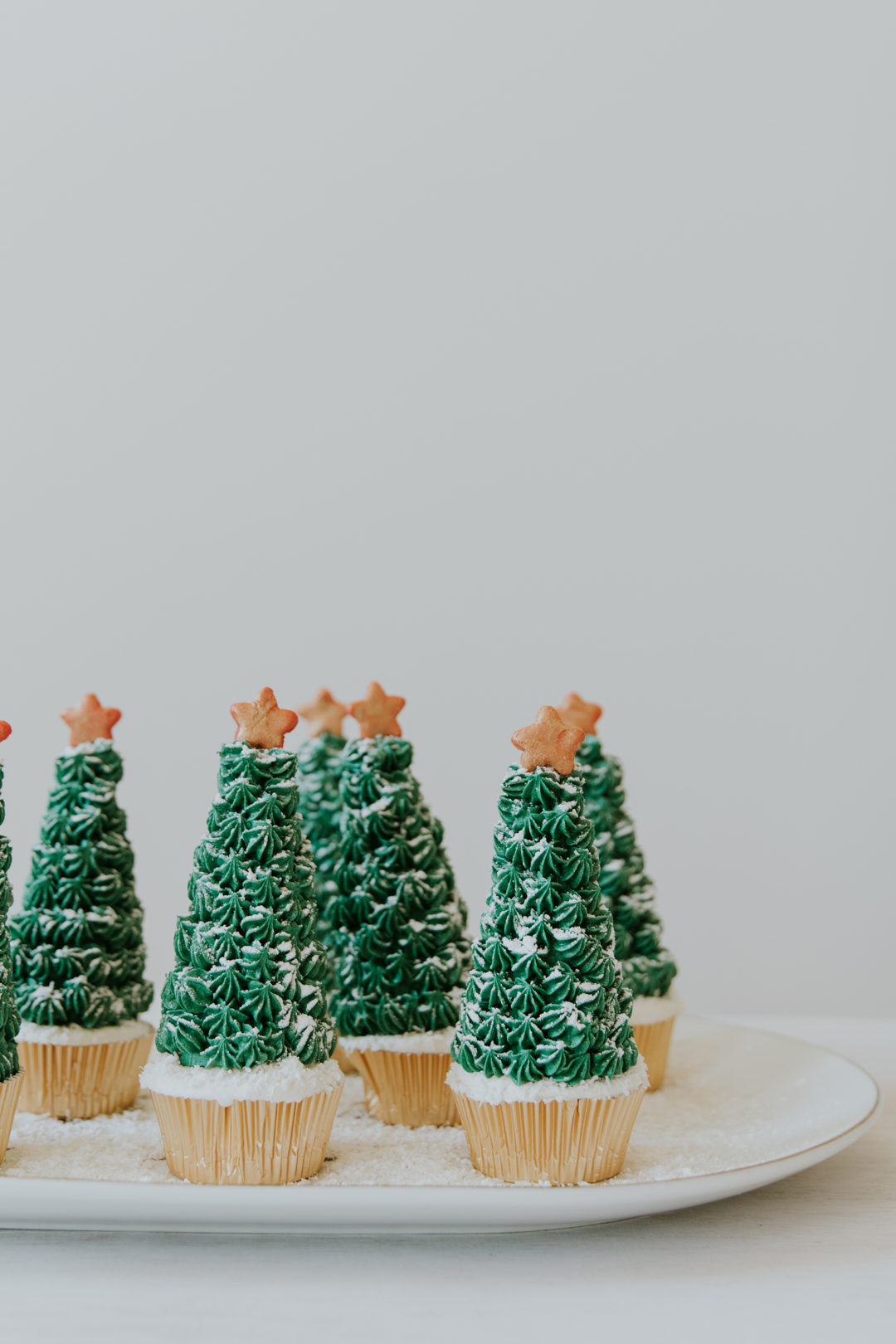 Christmas tree cupcakes the weir house christmas tree cupcakes solutioingenieria Choice Image
